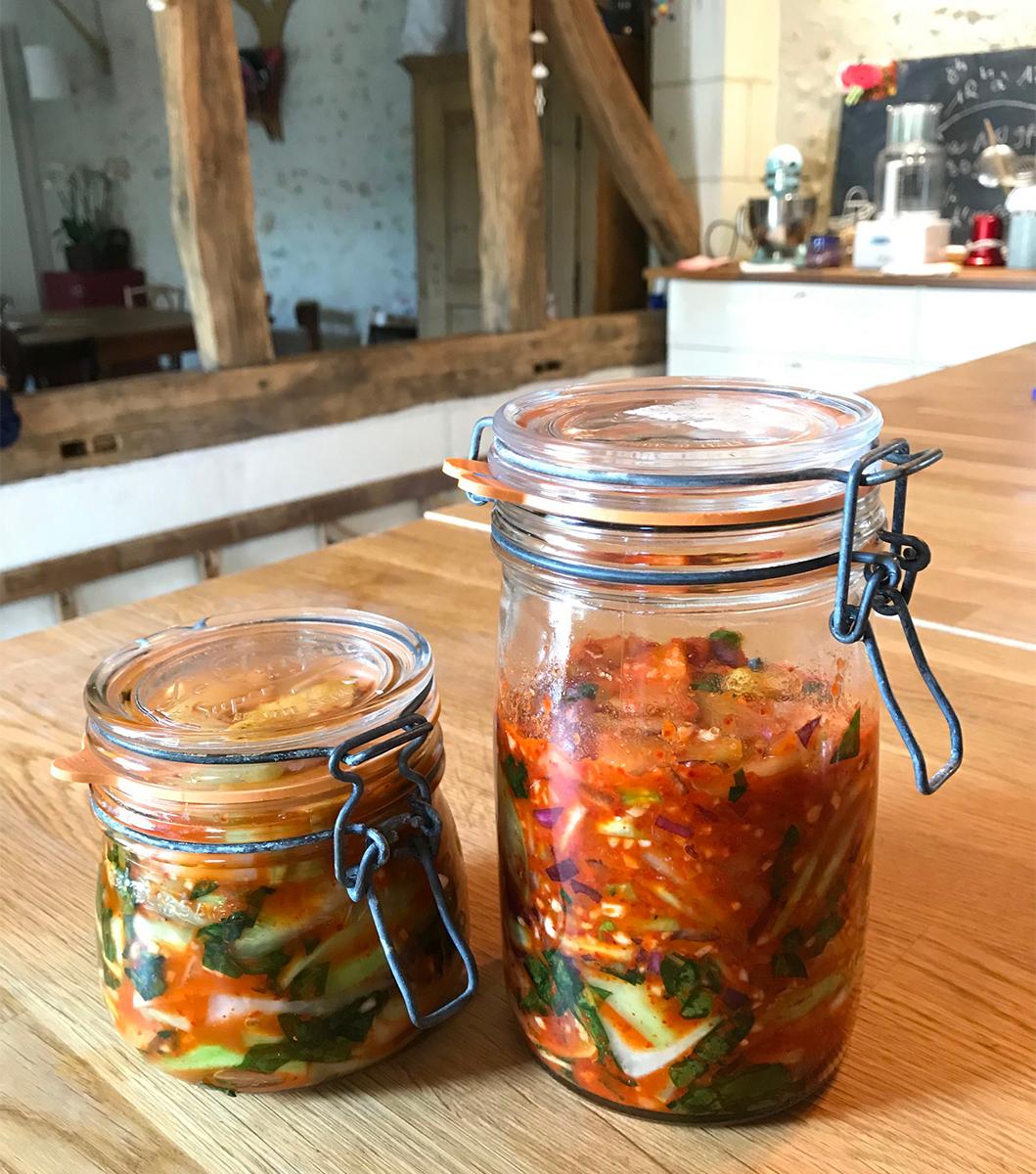 Recette de Kimchi maison