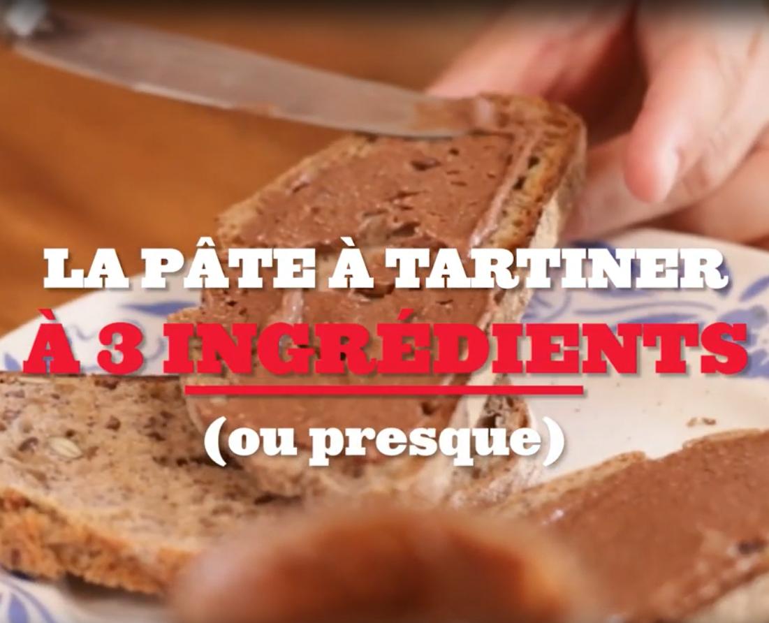 Le tuto pâte à tartiner maison (en vidéo)