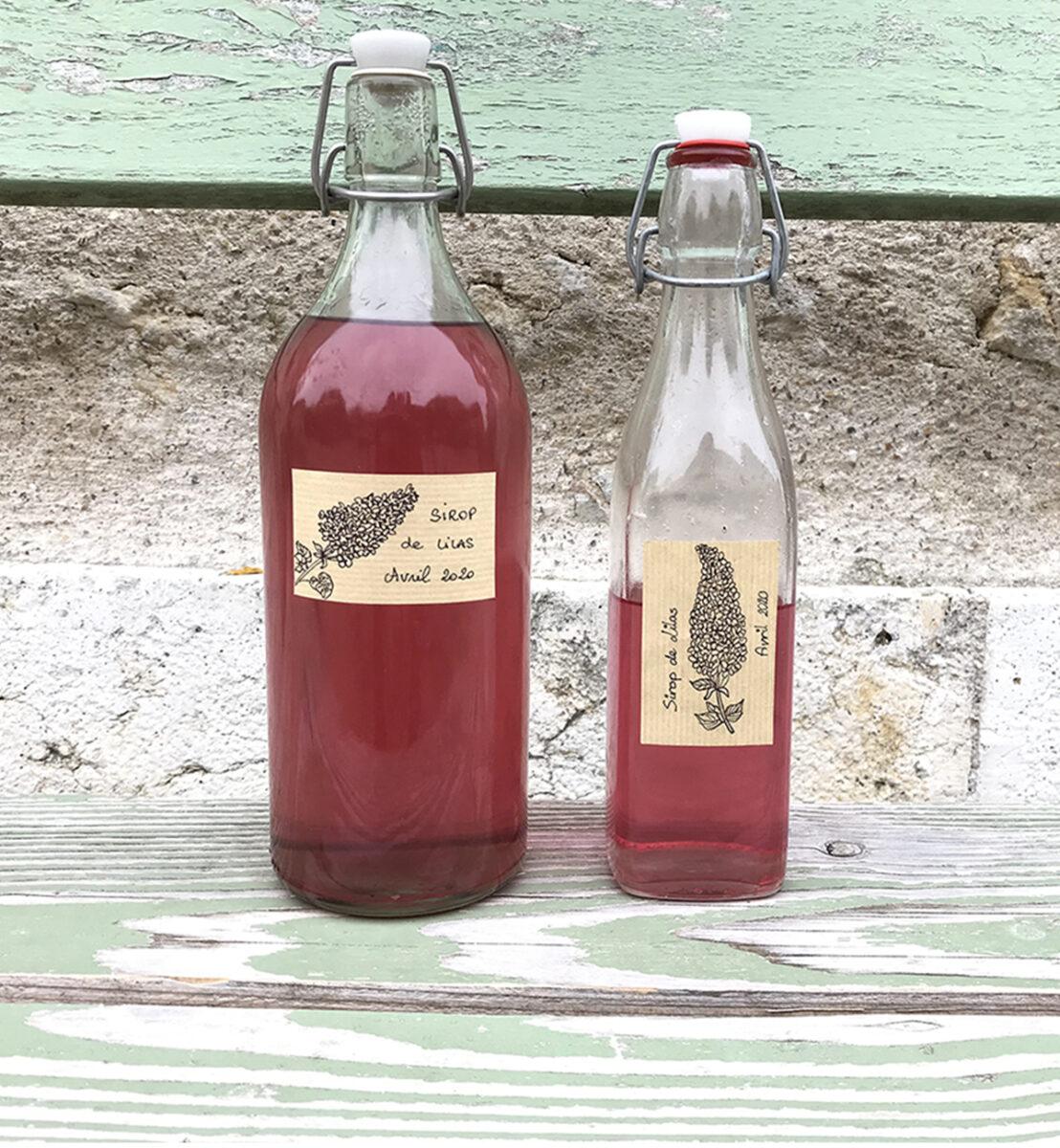 Sirop de lilas : mettez le printemps en bouteille